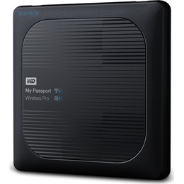 Western Digital  WD My Passport Wireless Pro 4TB WiFi AC HDD mobile wireless storage device USB3.0 SD-Card Slot 2.5Inch external Retail
