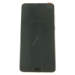 Huawei P20 Pro (CLT-L29) Originaal displei moodul, klaas + LCD ekraan , must