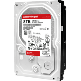"Western Digital Red WD80EFAX 8TB 3.5"" 64MB SATAIII 6 Gb/s REFURBISHED"