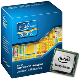 Intel Core i5 2500K 3,3GHz 6MB Socket H2 (LGA1155) TDP 95W