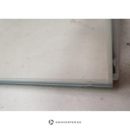 2 Peegeluksega Ja LED Valgustusega Seinakapp (Amanda) (Saalinäidis, Väike Iluviga) (kasutatud)