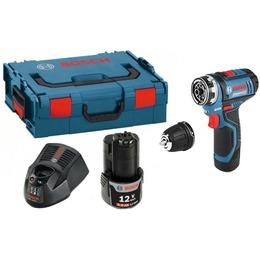 Bosch GSR 12V-15 FC Flex Set; 12V; 2x2,0 Ah aku