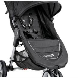 Baby Jogger istmekate koos polstriga City Mini GT, Black/Black