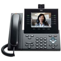 Cisco UC Phone 9951, Charcoal, Std Hndst with Camera