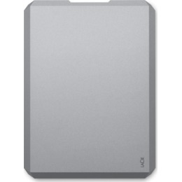 LaCie Mobile Drive space Gray 2TB, USB-C 3.0