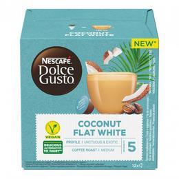 """Nescafe Kohvikapslid NESCAFÉ Dolce Gusto """"Coconut Flat White"""", 12 tk."""
