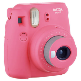 Fujifilm Instax Mini 9 camera Flamingo Pink, 0.6m - ∞