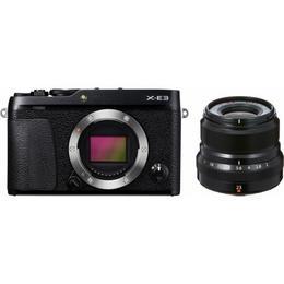 Fujifilm X-E3 + 23mm Black