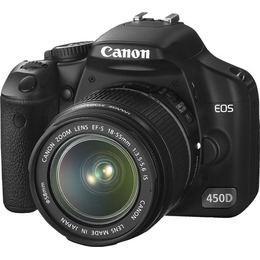 Canon 450D + EF-S 18-55mm IS KIT