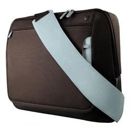 """Belkin 10-12"""" Messenger Bag Brown/Light blue"""