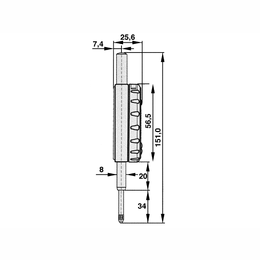 Luna Digitaalne indikaatorkell Limit 12,5/0,001mm