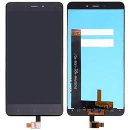 Xiaomi Redmi Note 4 originaal must displei moodul klaas + LCD ekraan