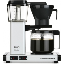 Moccamaster KBG962 AO valge metallik kohvimasin