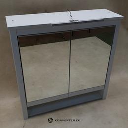 2 Peegeluksega Ja LED Valgustusega Seinakapp (Ole) (Iluvigadega) (kasutatud)
