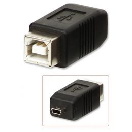 Lindy Üleminek USB 2.0 B (F) - Mini B (M)
