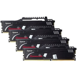 Apacer Commando 32GB 2400MHz DDR4 CL16 KIT OF 4 EK.32GAT.GEAK4