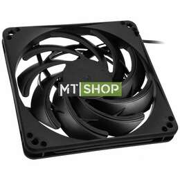 Silverstone Cooling Fan FN Series SST-FN124B 120mm slim, Low Noise, black