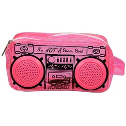 Fydelity Le BoomBox Doppler Small Bag with Speakers Pink