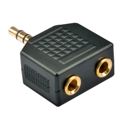 Lindy Adapter 3.5mm (M) - 2x3.5mm (F), must