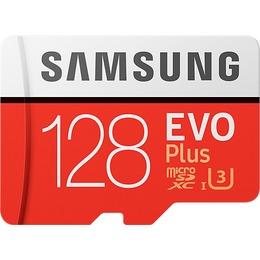 Samsung microSDXC Card EVO Plus 128GB Class10 R100/W90 incl adapter