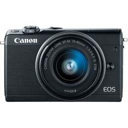 Canon EOS M100 + EF-M 15-45mm IS STM Black