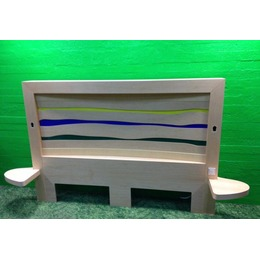 Suur valgustusega voodipeats (kasutatud)