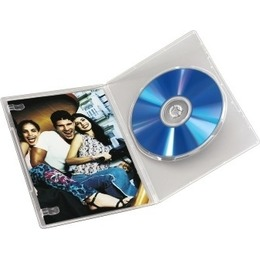 Hama  1x10 Slim DVD Jewel Case transparent 83890