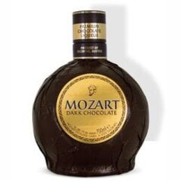 Mozart Liköör Dark Chocolate 50cl 17% + Kinkepakend