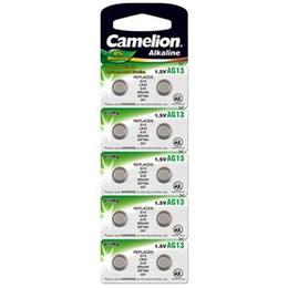 Camelion  Alkaline Button celles LR44 10-pack
