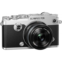 Olympus  PEN-F + M.Zuiko 17mm Silver/Black