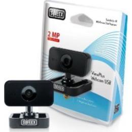 Sweex  ViewPlus Webcam USB Black, 2MP