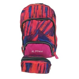 Avatar Backpack With Pencil Case Pink
