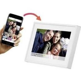Denver Digitaler WiFi-Bilderrahmen 17.8 cm 17,80cm (7) PFF-711 White 1024 x 600 Pixel 8 GB Weiß (11772010)