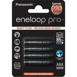 Panasonic Aku Eneloop Pro R03/AAA 930mAh, 4 Pcs, Blister