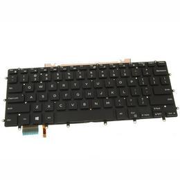 Dell XPS 15 9570 9550 9560 ENG taustvalgustusega klaviatuur GDT9F