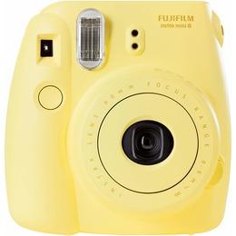 Fujifilm Instax Mini 9 camera + Instax mini glossy (10) Clear Yellow