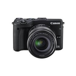 Canon EOS M3 Black + EF-M 18-55mm IS STM