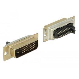 Delock DVI 24+1 (M) konnektor