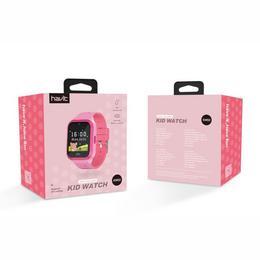 Havit Nutikell KW02 Kids GPS, roosa