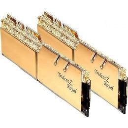 G.Skill DDR4 Trident Z Royal gold kit 32GB 3200MHz CL16