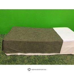 Pruunikas hall kolmveerand voodikate (kasutatud)