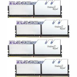 G.Skill DDR4 Trident Z Royal silver DIMM kit 32GB, DDR4-4000, CL18