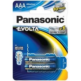 Panasonic  EVOLTA Alkaline AAA (LR03EGE), 2-pack