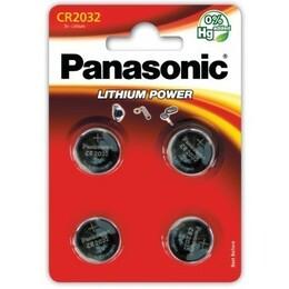 Panasonic CR2032 liitiumpatarei blister 4 tk.