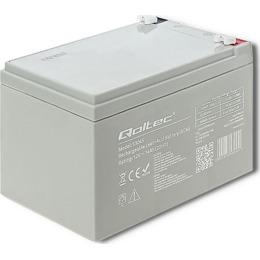 Qoltec Aku Akumulator AGM 12V | 14Ah | max. 210A (53045)
