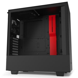 NZXT H510 Black/ Red glass window