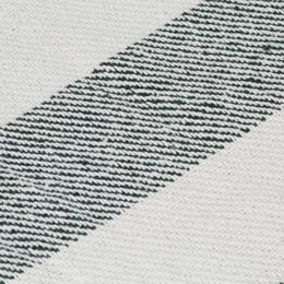 vidaXL pleed, puuvill, triibuline, 125 x 150 cm, tumeroheline 133797