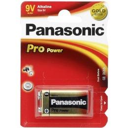 Panasonic  PRO POWER GOLD Alkaline 9V (6LR61PPG), 1-pack