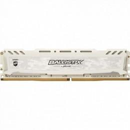 Crucial DDR4 Ballistix Sports LT white  8GB, 3200MHz CL16