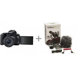 Canon EOS 250D must + 18-55 IS STM + Rode VideoMicro